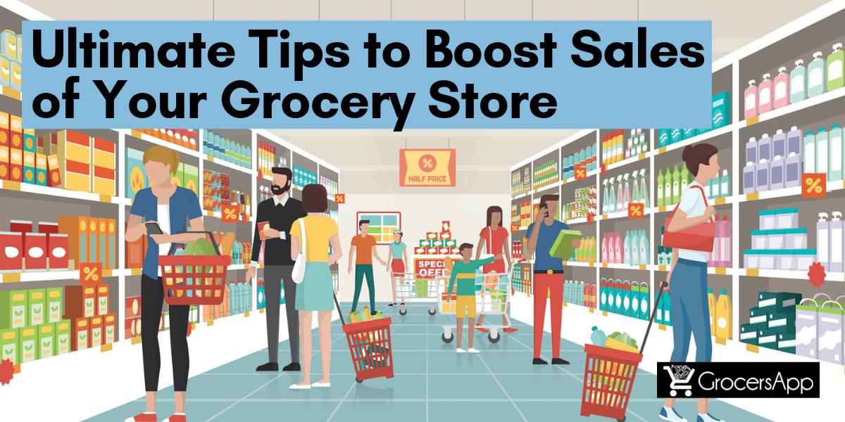 Online Grocery Store Sales - GrocersApp