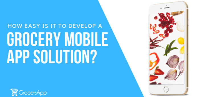 How Easy is it to Develop a Grocery Mobile App Solution?