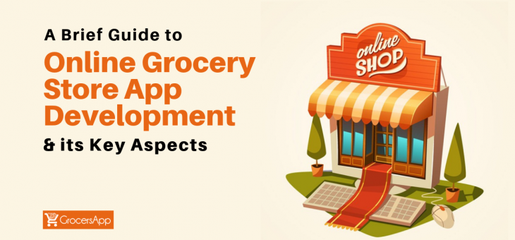 A Brief Guide to Online Grocery Store App Development & its Key Aspects