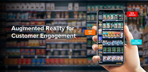 Virtual Reality Experience in Grocery Apps