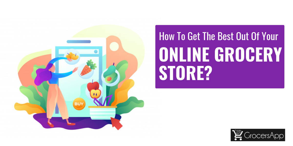 marketing tips for an online grocery store