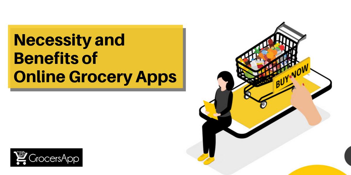 Necessity and Benefits of Online Grocery Apps - GrocersApp