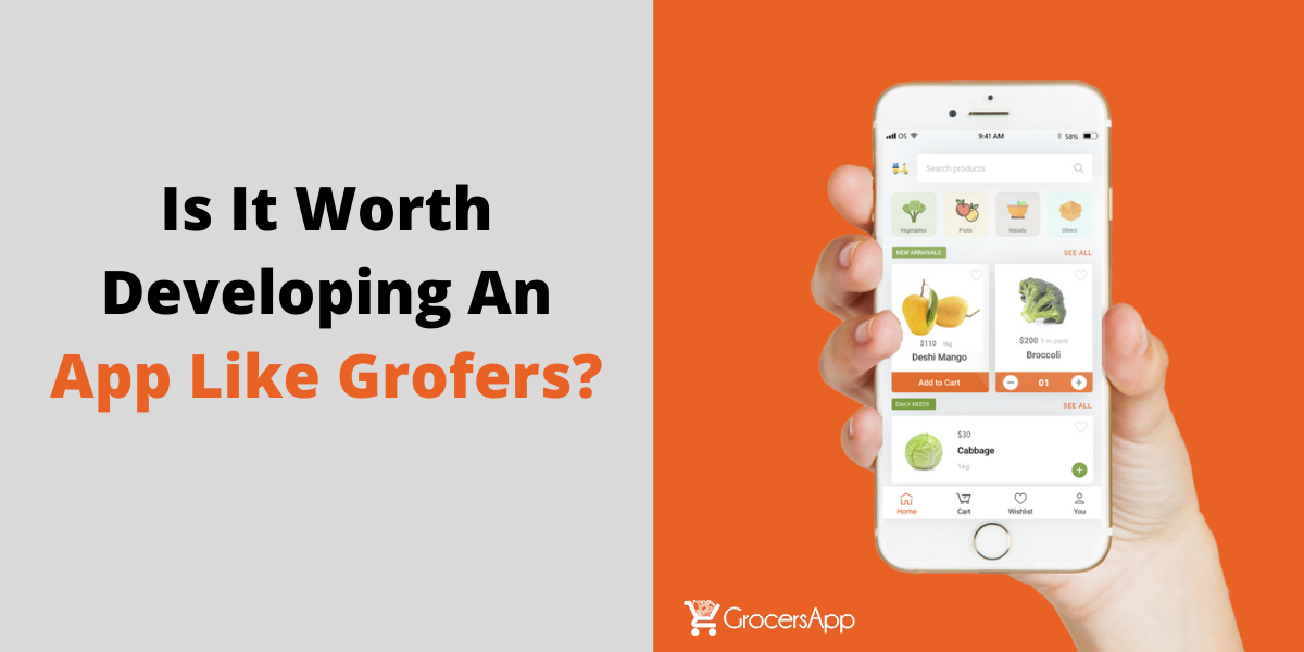 Is It Worth Developing An app like Grofers - GrocersApp (2)