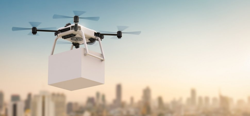 drone grocery delivery - GrocersApp