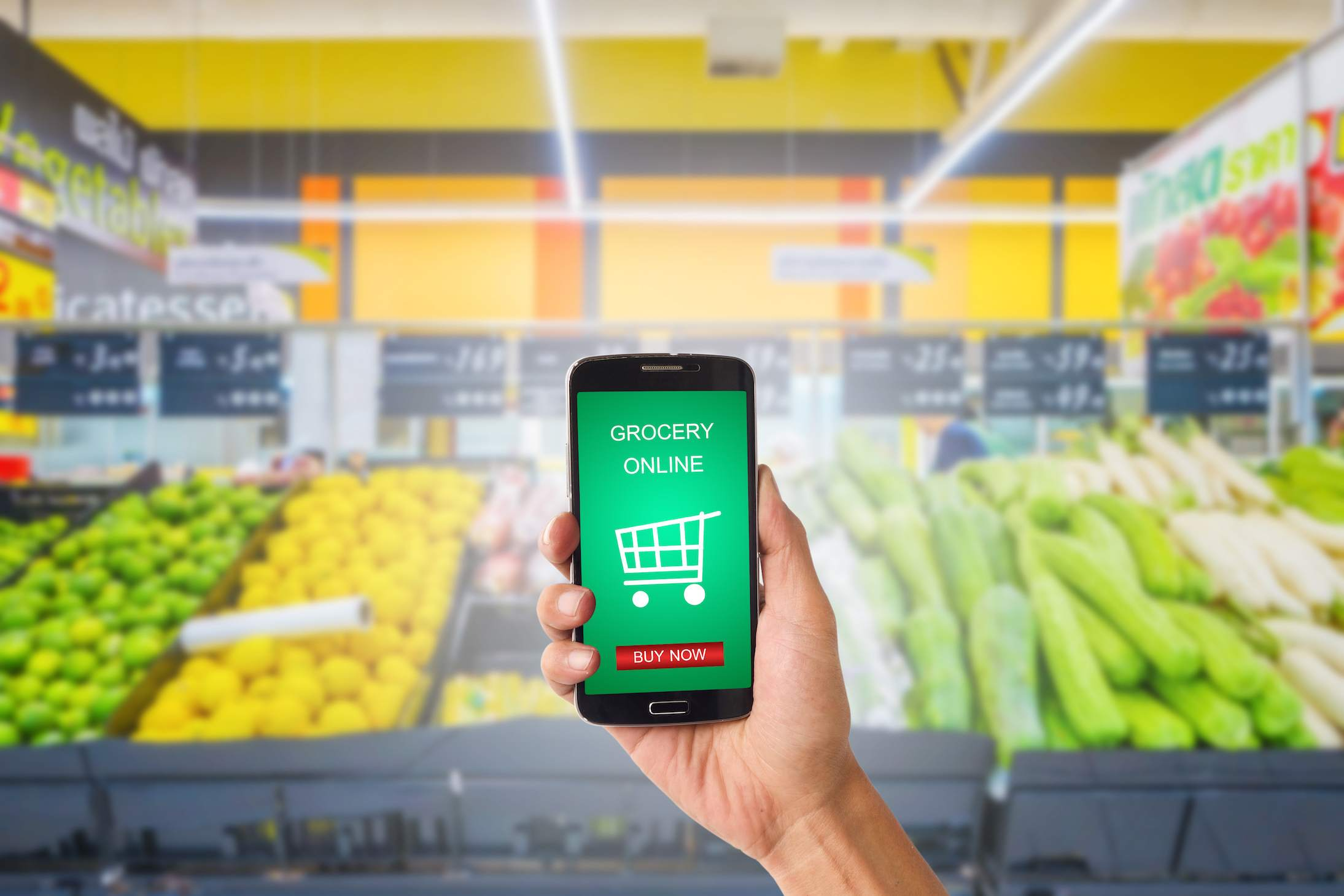 online grocery shopping - GrocersApp