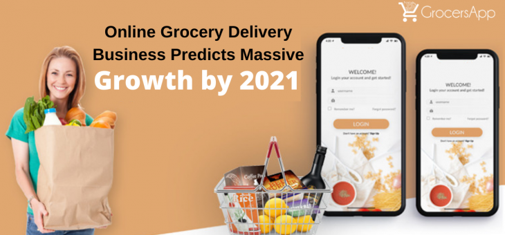 Online Grocery Delivery Business Predicts Massive Growth by 2021
