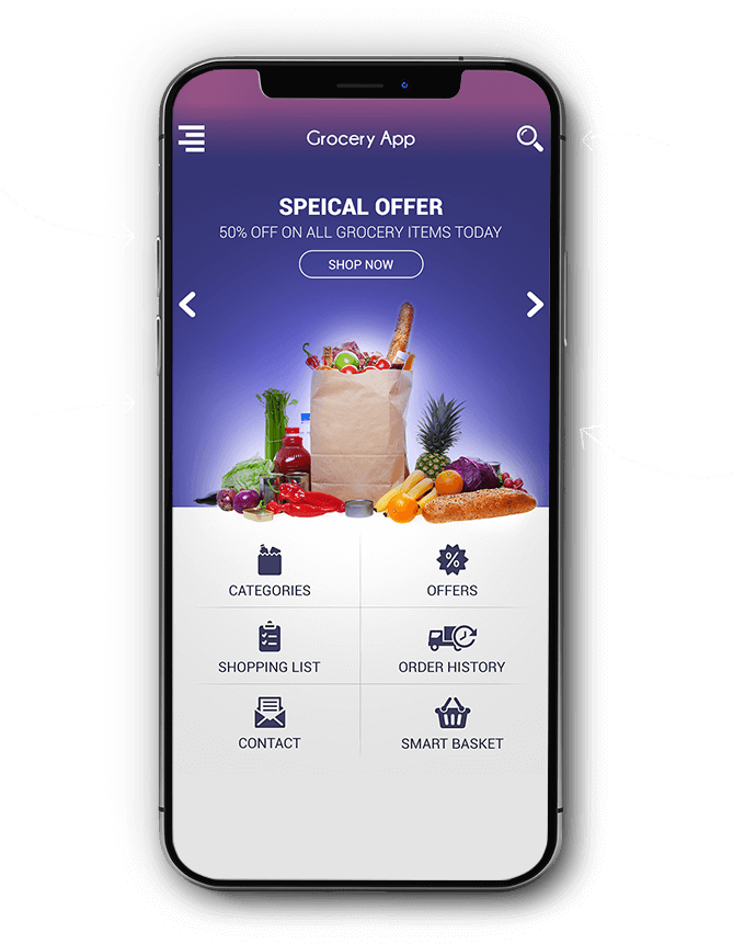 Mobile App For Grocery Shopping
