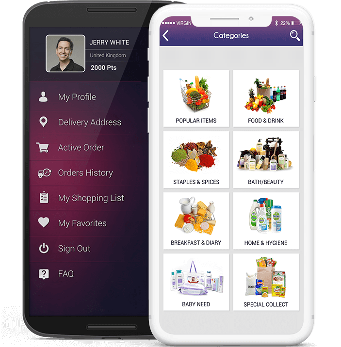 Grocery Mobile App Development